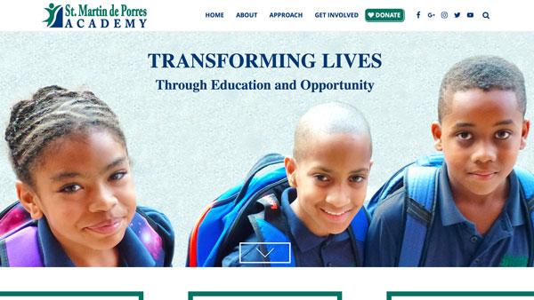 Saint Martin de Porres Academy Website
