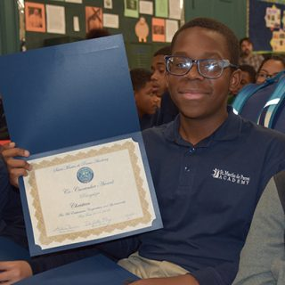 SMPA 8th Grade Student Christian, Class of 2028