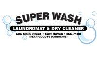Super Wash logo form